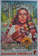María Candelaria - Spanish Movie Poster (xs thumbnail)