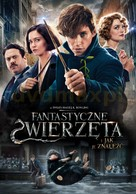 Fantastic Beasts and Where to Find Them - Polish Movie Cover (xs thumbnail)