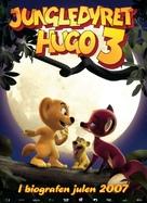 Jungledyret Hugo: Fræk, flabet og fri - Danish Movie Poster (xs thumbnail)