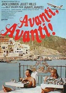 Avanti! - German Movie Poster (xs thumbnail)