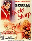 Becky Sharp - French Movie Poster (xs thumbnail)