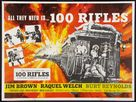 100 Rifles - British Movie Poster (xs thumbnail)