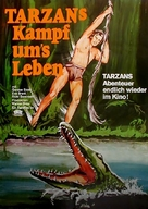 Tarzan's Fight for Life - German Movie Poster (xs thumbnail)