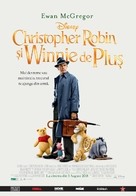Christopher Robin - Romanian Movie Poster (xs thumbnail)