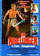 Die Nibelungen, Teil 1: Siegfried - German Movie Poster (xs thumbnail)