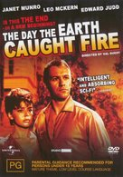 The Day the Earth Caught Fire - Australian Movie Cover (xs thumbnail)