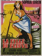 La donna del fiume - French Movie Poster (xs thumbnail)