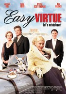 Easy Virtue - Dutch Movie Poster (xs thumbnail)