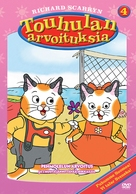 """The Busy World of Richard Scarry"" - Finnish DVD cover (xs thumbnail)"