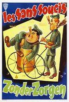 A Chump at Oxford - Belgian Movie Poster (xs thumbnail)