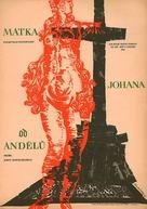 Matka Joanna od aniolów - Czech Movie Poster (xs thumbnail)