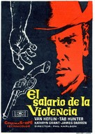 Gunman's Walk - Spanish Movie Poster (xs thumbnail)