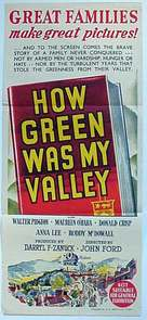 How Green Was My Valley - Australian Movie Poster (xs thumbnail)