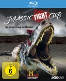 """Jurassic Fight Club"" - German Blu-Ray movie cover (xs thumbnail)"