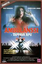 The Ambulance - Finnish VHS movie cover (xs thumbnail)