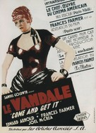 Come and Get It - French Movie Poster (xs thumbnail)