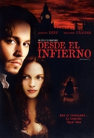 From Hell - Argentinian DVD movie cover (xs thumbnail)