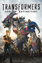 Transformers: Age of Extinction - DVD cover (xs thumbnail)