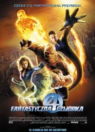 Fantastic Four - Polish Movie Poster (xs thumbnail)
