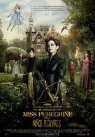 Miss Peregrine's Home for Peculiar Children - Spanish Movie Poster (xs thumbnail)