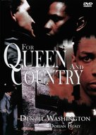 For Queen and Country - German Movie Cover (xs thumbnail)