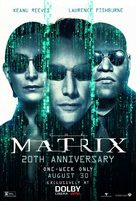 The Matrix - Re-release movie poster (xs thumbnail)