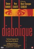 Les diaboliques - Belgian DVD movie cover (xs thumbnail)