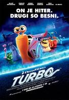 Turbo - Slovenian Movie Poster (xs thumbnail)