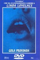 Deep Throat - Italian DVD cover (xs thumbnail)
