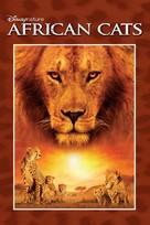 African Cats - DVD cover (xs thumbnail)