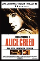 The Disappearance of Alice Creed - British Movie Poster (xs thumbnail)