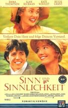 Sense and Sensibility - German Movie Cover (xs thumbnail)