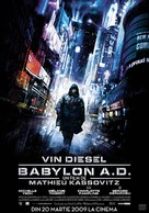 Babylon A.D. - Romanian Movie Poster (xs thumbnail)