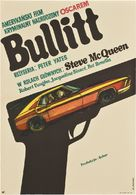 Bullitt - Polish Movie Poster (xs thumbnail)