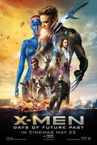 X-Men: Days of Future Past - Singaporean Movie Poster (xs thumbnail)