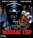 Maniac Cop - Blu-Ray cover (xs thumbnail)
