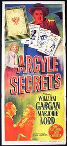 The Argyle Secrets - Australian Movie Poster (xs thumbnail)