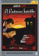 Invisible Ghost - Spanish Movie Cover (xs thumbnail)