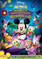 Mickey's Adventures in Wonderland - DVD cover (xs thumbnail)