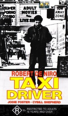 Taxi Driver - Australian VHS movie cover (xs thumbnail)