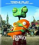 Rango - Blu-Ray cover (xs thumbnail)