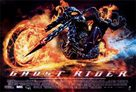 Ghost Rider - British Movie Poster (xs thumbnail)