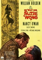 The World of Suzie Wong - German Movie Poster (xs thumbnail)