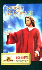 King of Kings - German VHS movie cover (xs thumbnail)