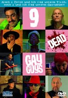 9 Dead Gay Guys - German DVD movie cover (xs thumbnail)