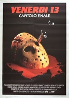 Friday the 13th: The Final Chapter - Italian Movie Poster (xs thumbnail)