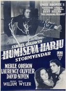 Wuthering Heights - Finnish Movie Poster (xs thumbnail)