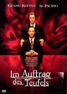 The Devil's Advocate - German DVD movie cover (xs thumbnail)
