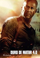 Live Free or Die Hard - Mexican Movie Poster (xs thumbnail)
