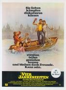 The Four Seasons - German Movie Poster (xs thumbnail)